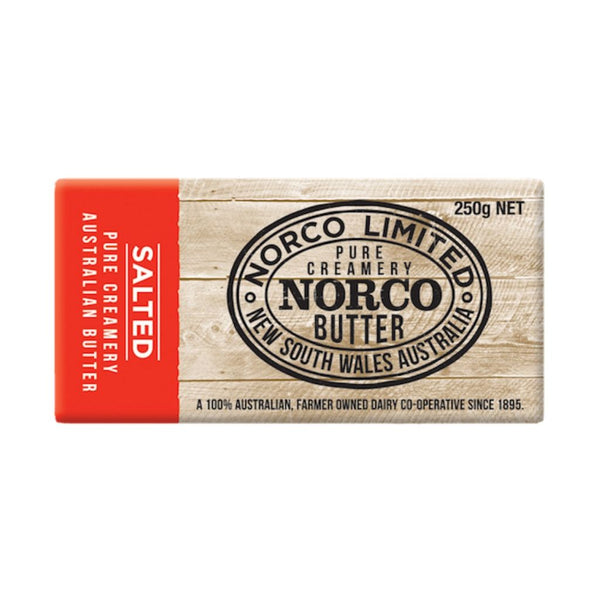 Butter Salted 250g by Norco