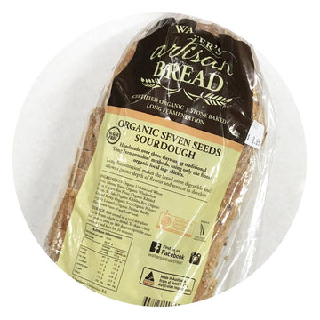 Bread Organic 7-Seeds Sourdough by Walter's Artisan Bread