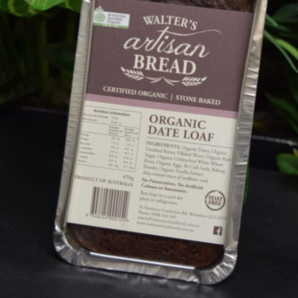 Bread Date Loaf by Walter's Artisan Bread