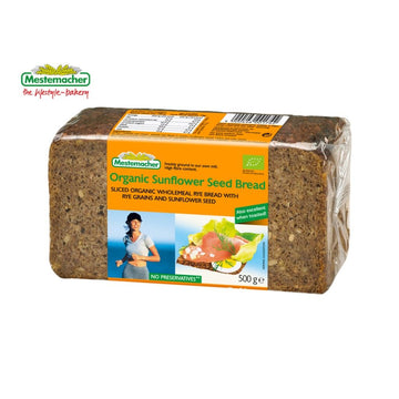 Bread Sunflower Seed Organic Bread 500g by Mestemacher