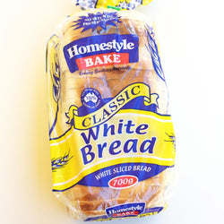 Bread White 700g by Homebake