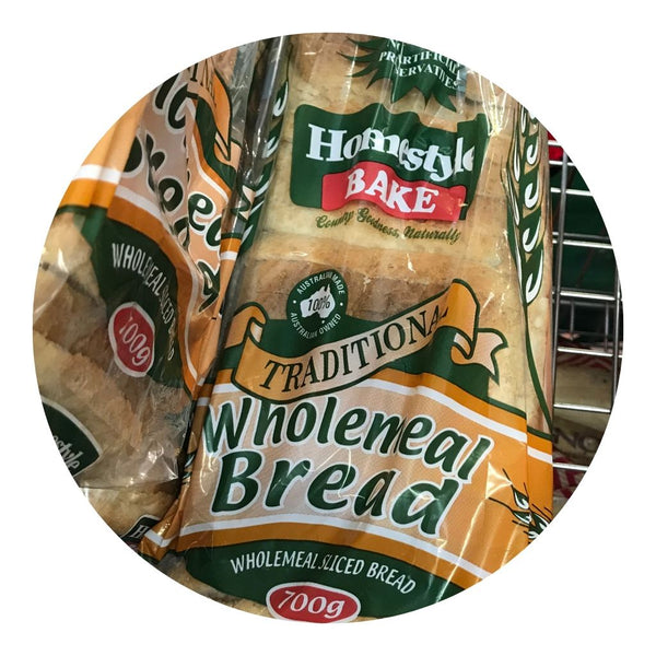 Bread Wholemeal 700g by Homebake