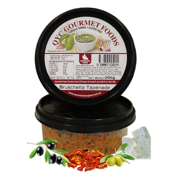 Pesto Bruschetta Tapenade 200g by QYC