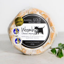 Cheese Blackall Gold Washed Rind by Woombye