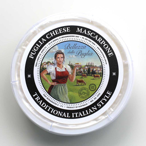 Cheese Mascarpone 250g by Puglia