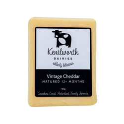 Cheese Vintage Cheddar 165g by Kenilworth Dairies