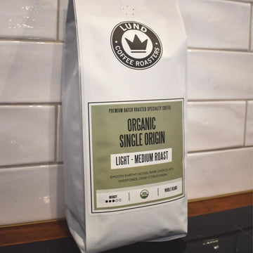 Coffee Beans Organic Single Origin 1kg by Lund Coffee Roasters