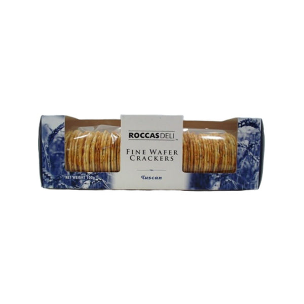 Crackers Fine Wafer Tuscan by Roccas Deli