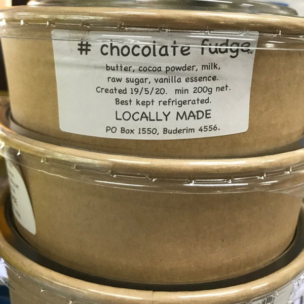 Fudge Chocolate by Locally Made