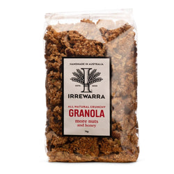 Granola More Nuts & Honey 500g by Irrewarra Sourdough Bakery