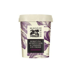 Ice Cream Sticks Burnt Fig Honeycomb Caramel 500ml by Maggie Beer