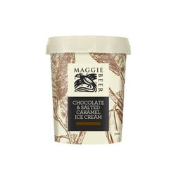 Ice Cream Chocolate & Salted Caramel 500ml by Maggie Beer