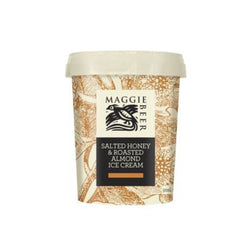 Ice Cream Salted Honey & Roasted Almond 500ml by Maggie Beer