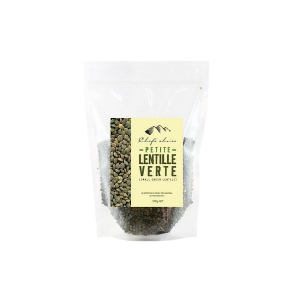 Lentils Small Green by Chef's Choice