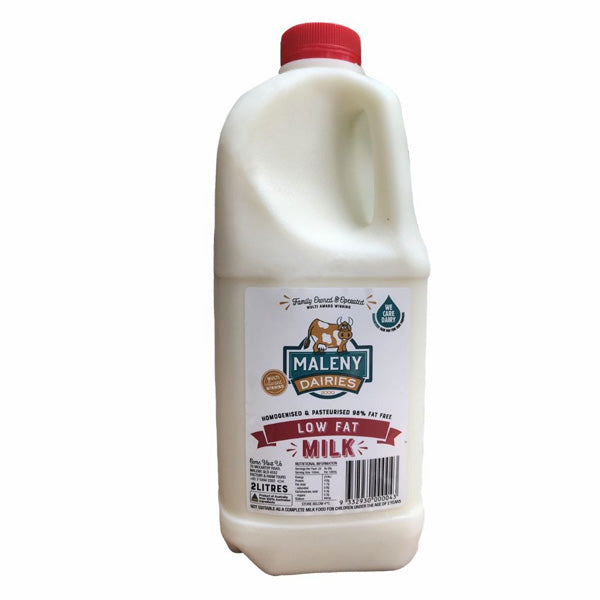 Milk Maleny Low Fat - Red Top