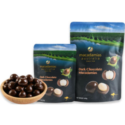 Macadamias Dark Chocolate 135g by Macadamias Australia