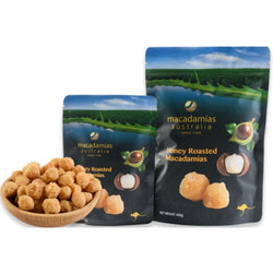 Macadamias Honey Roasted 135g by Macadamias Australia