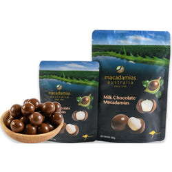 Macadamias Milk Chocolate 135g by Macadamias Australia