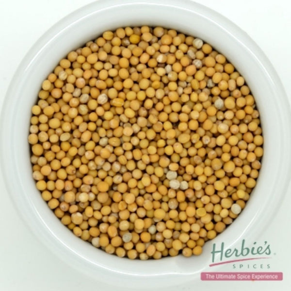 Spice Mustard Seed Yellow Whole Small 75g | Herbie's Spices
