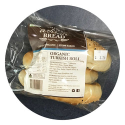 Bread Organic Turkish Roll by Walter's Artisan Bread