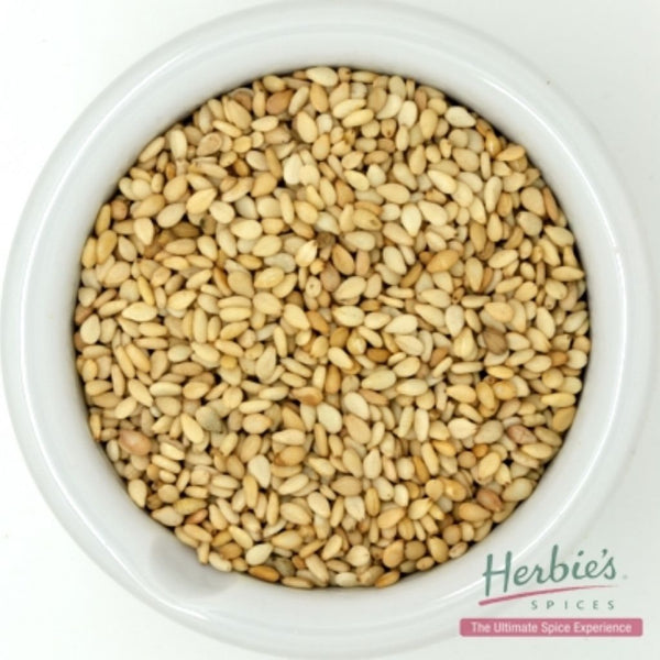 Spice Sesame Seed Gold Whole Small 50g | Herbie's Spices
