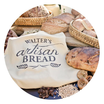 Bread Organic Wholemeal Sourdough by Walter's Artisan Bread