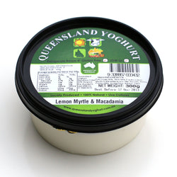 Yoghurt Lemon Myrtle and Macadamia by QYC