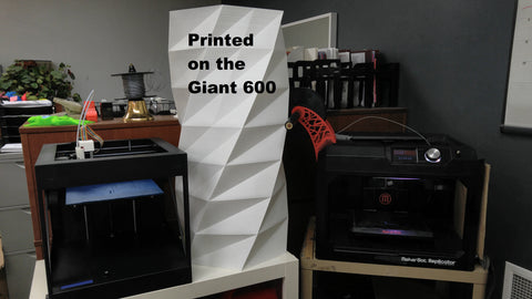 Printed on the Giant 600