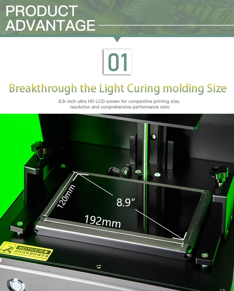 Creality LD-003 LARGE LCD Resin 3D printer - PRE-ORDER