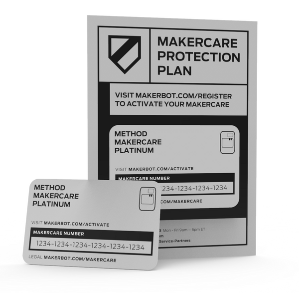 MakerCare Gold for MakerBot SKETCH - 2 Year
