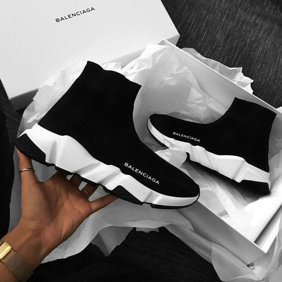 Balenciaga Speed Trainer Black-White