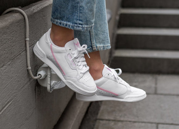 Adidas Continental 80 White-Pink