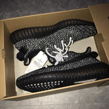 Adidas Yeezy Boost 350 Black Static Reflective