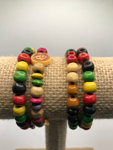 Multicolor Wooden Bracelet for Kids