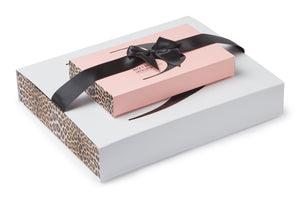 Load image into Gallery viewer, Bronzie Luxury Exfoliation Gift Set - Leopard