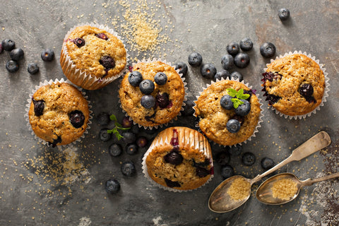 Blue Berry Oat Muffins
