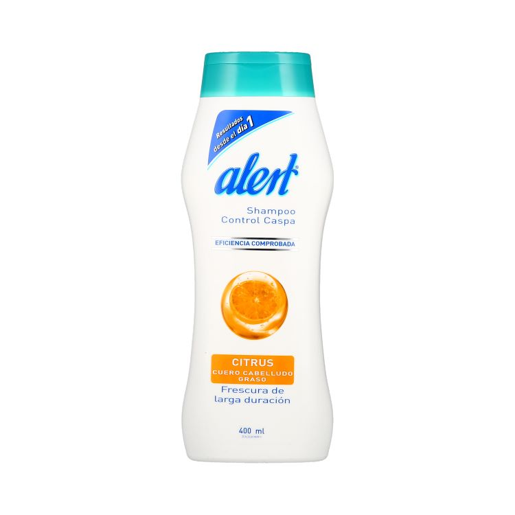 ALERT SHAMPOO CITRUS 400ML