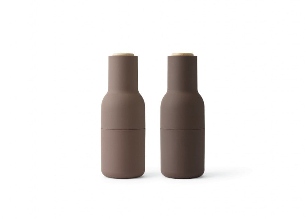 Menu Bottle Grinders - Purple - Beech Top
