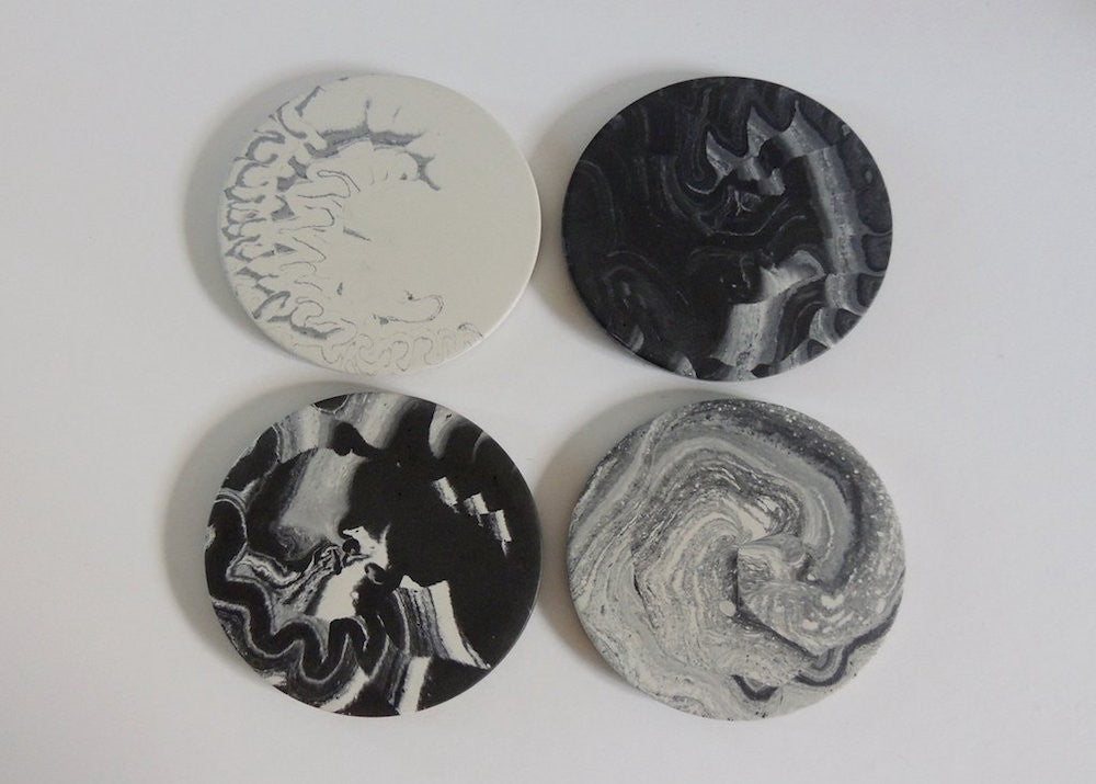 FUME - Concrete Coaster Set