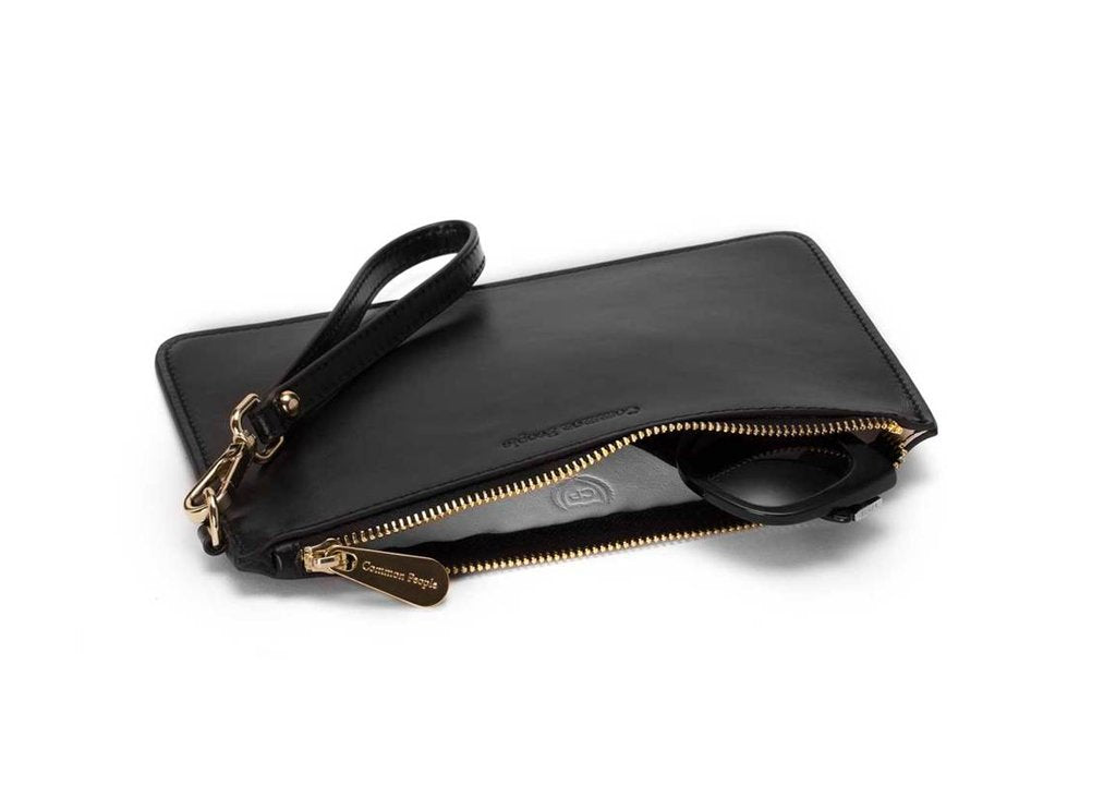 Common People - Freddie Leather Travel Wallet