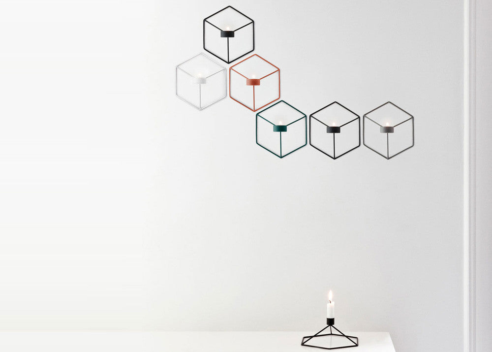 Menu POV Candleholder Wall - Black