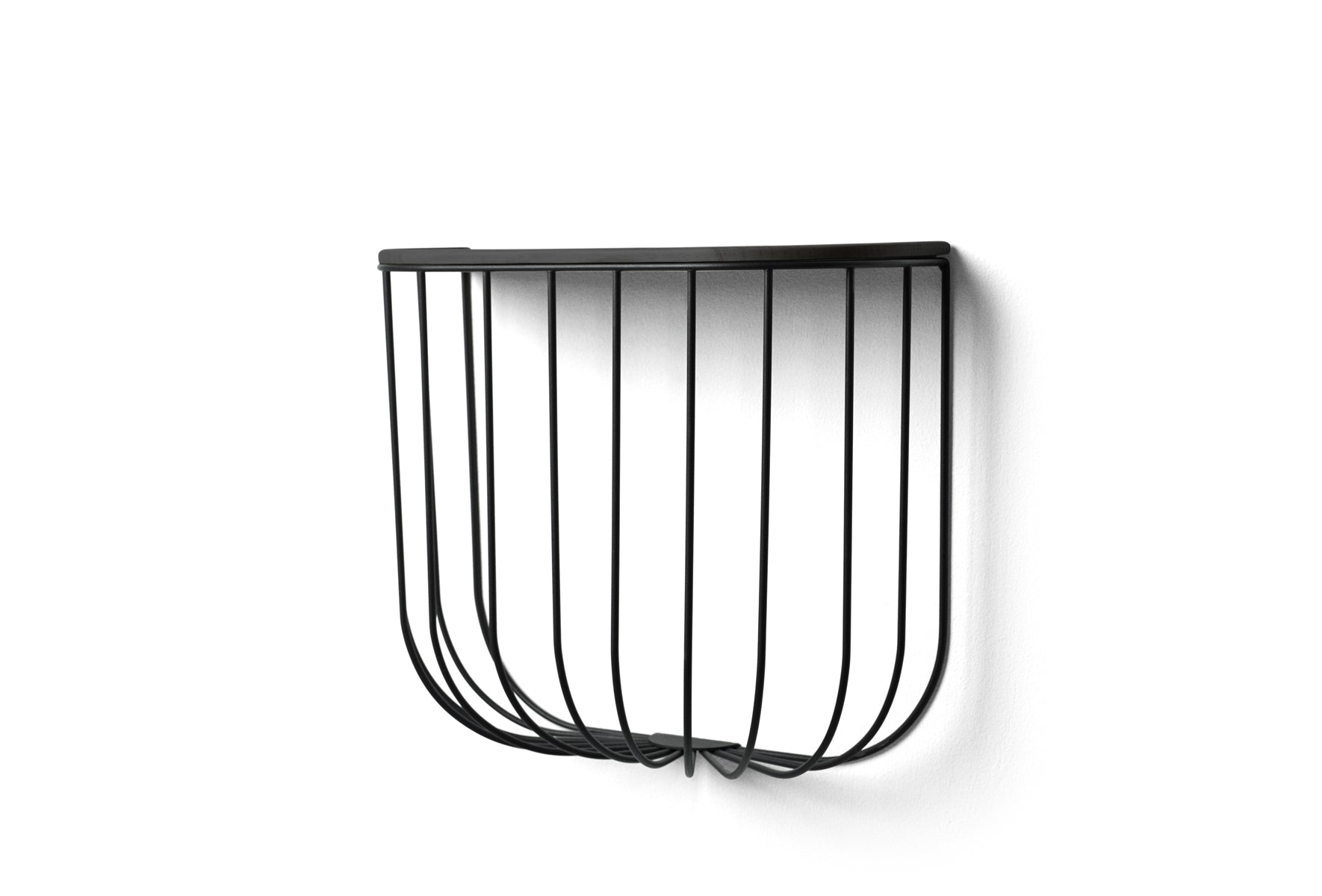 Menu Cage Shelf - Black