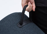 Tim Webber Design - Duffel Stool (handle detail)