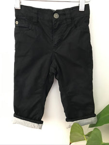 Old Navy Lined Black Chinos