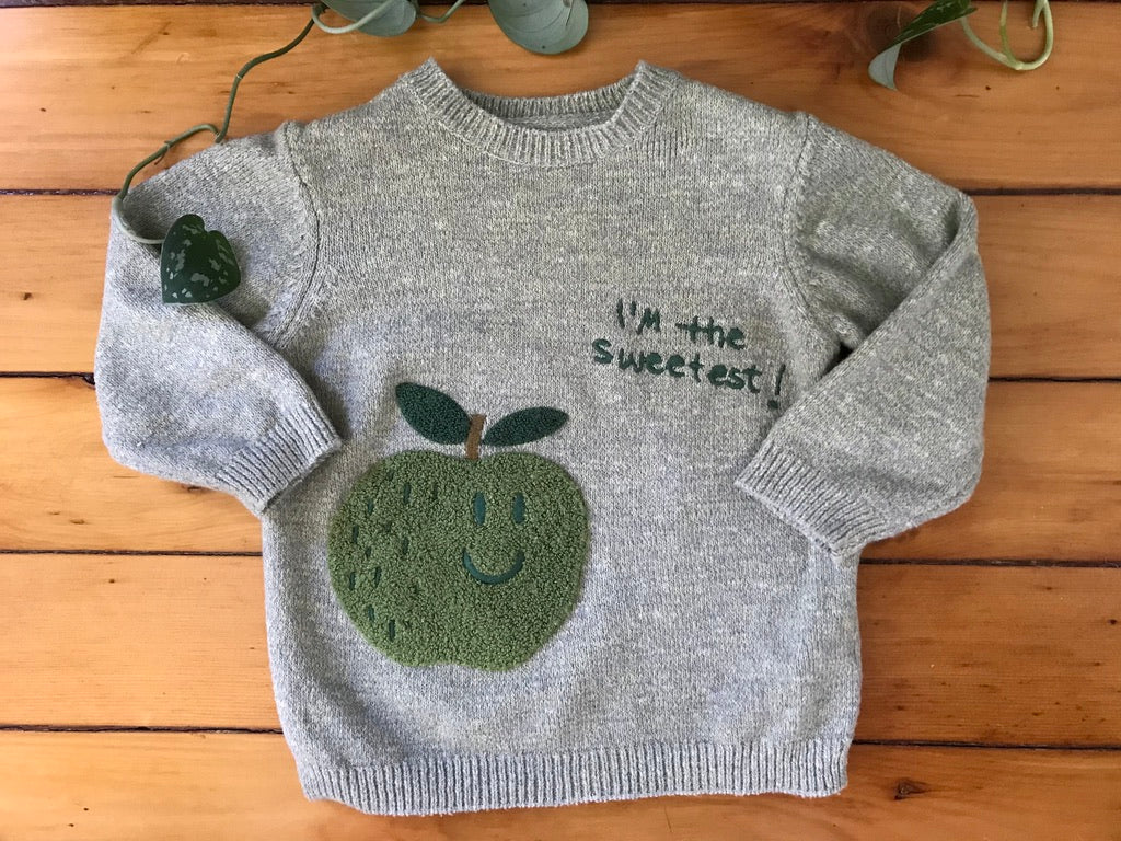 Zara Apple Pullover