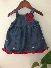 Load image into Gallery viewer, Gymboree Denim Jumper Dress
