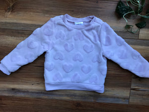 Falls Creek Plush Heart Sweater