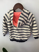 Load image into Gallery viewer, EGG by Susan Lazar Stripe Hoodie