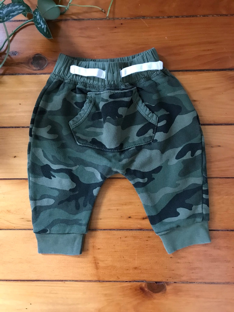 Baby Gap Camo Harem Pants