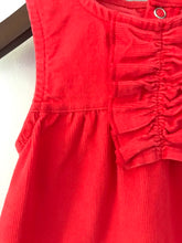 Load image into Gallery viewer, Carter's Red Corduroy Dress